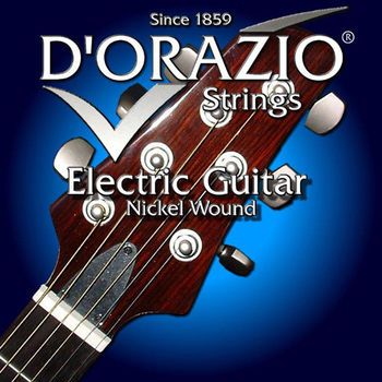 義大利手工製 DORAZIO 鍍鎳 電吉他弦(No.33)