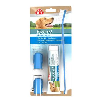 【8in1】美國 Excel口腔保健組合包(3.5oz+牙刷) X 1入