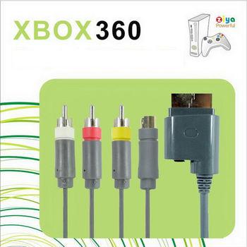 [ZIYA] XBOX360 AV視訊傳輸線 AV+S 端子頭 (一入)