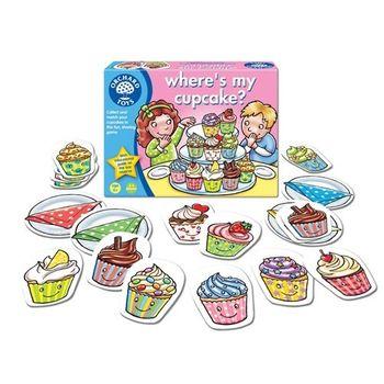 英國Orchard Toys 幼兒桌遊  Wheres my Cupcake ? 杯子蛋糕在哪裡 ?