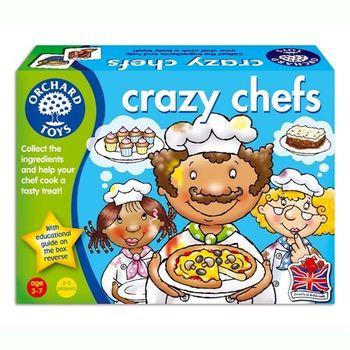 英國Orchard Toys 幼兒桌遊  瘋狂大主廚比賽 Crazy Chefs