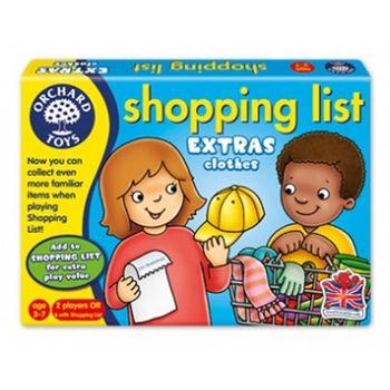 英國Orchard Toys 幼兒超市購物配對遊戲 shopping list 衣物組