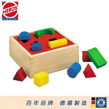[HEROS]德國木玩 積木形狀分類盒