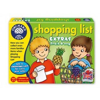 英國Orchard Toys 幼兒超市購物配對遊戲 shopping list 蔬果組