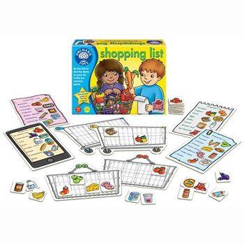 英國Orchard Toys 幼兒超市購物配對遊戲 shopping list 基本組