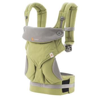 美國Ergobaby爾哥寶寶四向背法嬰童背帶-青蘋綠