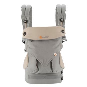 美國Ergobaby爾哥寶寶四向背法嬰童背帶-淺碳灰