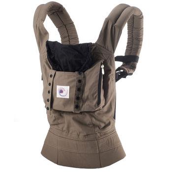 美國ERGObaby爾哥寶寶原創款嬰童背帶-卡其棕