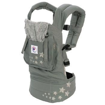 美國ERGObaby爾哥寶寶原創款嬰童背帶-銀河灰