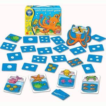 英國Orchard Toys 幼兒桌遊 釣魚數數遊戲 catch and count