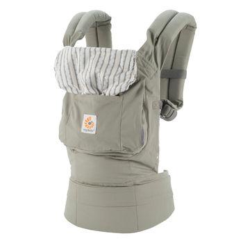 美國ERGObaby爾哥寶寶原創款嬰童背帶-銀灰露珠