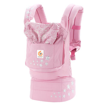 美國ERGObaby爾哥寶寶原創款嬰童背帶-甜粉櫻花
