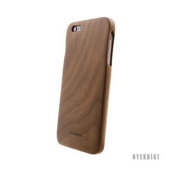 OVERDIGI Mori iPhone6(S) plus 胡桃木 全天然木料保護殼
