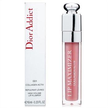 Dior 迪奧 豐漾翹唇蜜 6ml 贈專櫃化妝包(隨機) #色號001