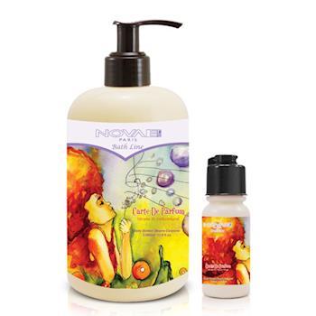 Novae 香氛地圖 植萃身體霜-小瑞士秘境(350ml)-送品牌身體霜