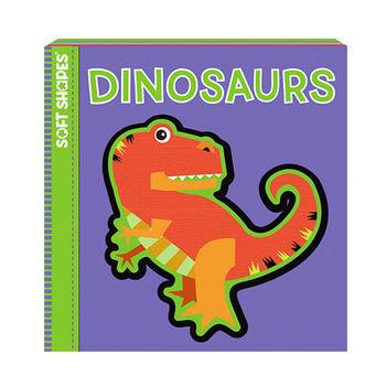 美國innovativeKids寶寶泡棉拼圖書-恐龍