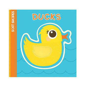 美國innovativeKids寶寶泡棉拼圖書-小鴨