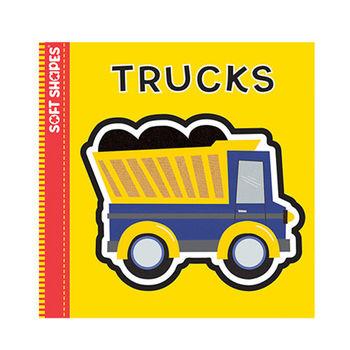 美國innovativeKids寶寶泡棉拼圖書-卡車