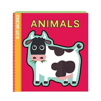 美國innovativeKids寶寶泡棉拼圖書-動物