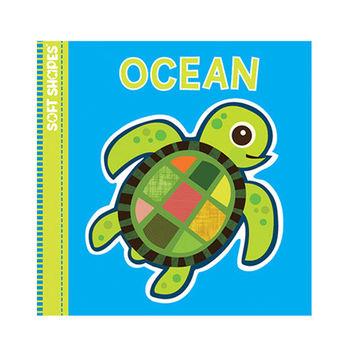 美國innovativeKids寶寶泡棉拼圖書-海洋