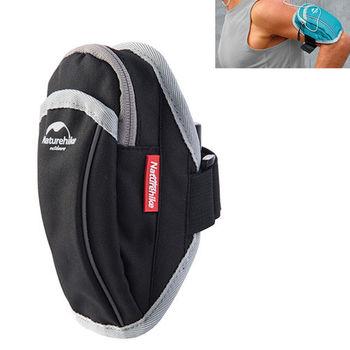 PUSH! 戶外休閒用品跑步包手機臂包袋手機臂套袋 U36-3黑色
