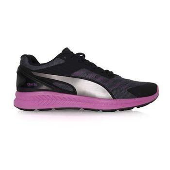 【PUMA】IGNITE V2 女慢跑鞋- 路跑 黑紫