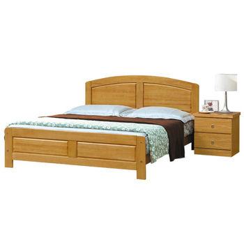 【時尚屋】[G16]白楓木5.2尺雙人床G16-071-2不含床頭櫃-床墊