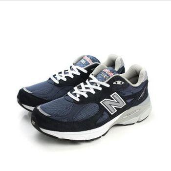 NEW BALANCE 990系列 跑鞋 藍黑 男款 no504