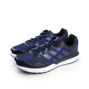 adidas duramo elite 2m 跑鞋 藍 男款 no209