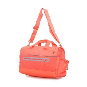 【ADIDAS】健身包- 側背包 斜背包 旅行袋 行李包 粉橘