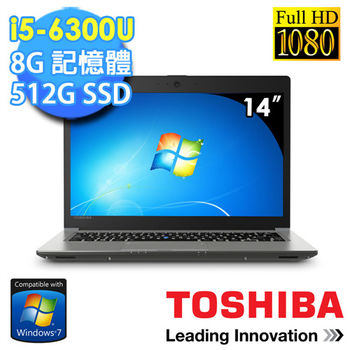 Toshiba Z40-C-00K009 14吋 FHD i5-6300U 獨顯GT930M 2G 輕薄專業商務筆電