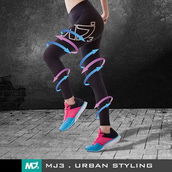 【MJ3】S-XL運動專用機能壓縮褲/壓力褲-女