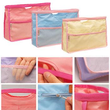韓國糖果色化妝品收納包中包/旅行包