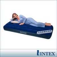 ~INTEX~單人型植絨充氣床墊 ^#40 寬76cm ^#41  ^#40 68950