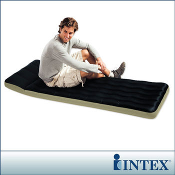 【INTEX】單人野營充氣床墊(露營睡墊)-寬72cm (68798)