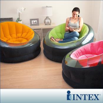 INTEX《星球椅》充氣沙發椅-3色隨機出貨 (68582)  /單人座沙發/懶骨頭