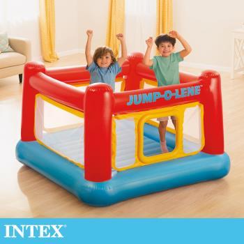 【INTEX】跳跳床-擂台 JUMP-O-LENE-寬174cm(48260)