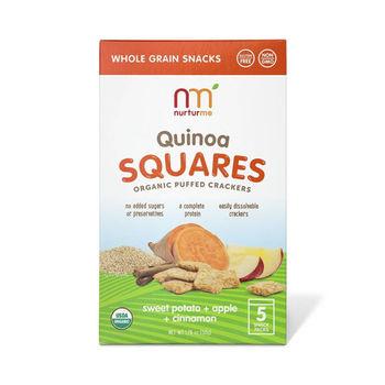 美國原裝NurturMe幼兒有機餅乾-有機藜麥,番薯,蘋果,肉桂(2盒組)