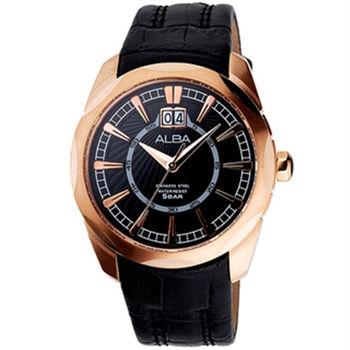 【ALBA】 都會紳士時尚男腕錶-玫瑰金 (VJ76-X018K/AQ5063X)