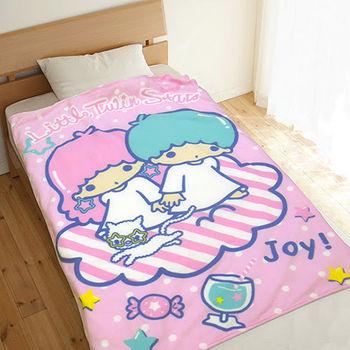 雙子星刷毛毯