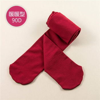 【公主童襪Princesstights】 90D蘋果紅超細纖維兒童褲襪 – 止滑款(1-3歲)