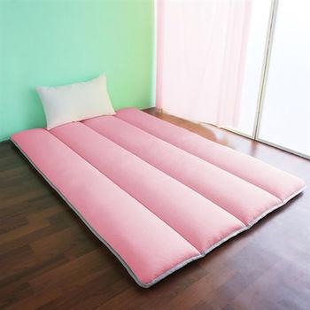 【契斯特】超涼感冰晶絲日式床墊-單人加大草莓塔