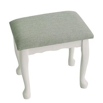 《舒適屋》法式公主風夢幻化妝椅/休閒椅(2色可選)