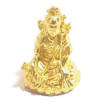 【十相自在】2.5公分 小佛像法像-金黃色(蓮花生大士)