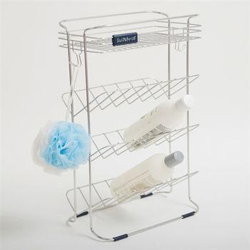 《舒適屋》不銹鋼衛浴精品吊式沐浴瓶罐架