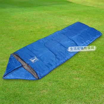 《APC》《三季三合一》全開式睡袋-藍色