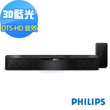 福利品-PHILIPS飛利浦 SoundBar 藍光家庭劇院3D播放(HTS7140)