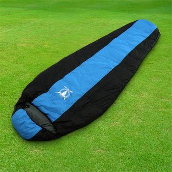 【APC】巴掌大超輕量羽絨睡袋(防潑水)-超輕750公克 (藍色)