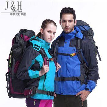 [ JH嚴選 ]男款防風防水保暖高機能外套