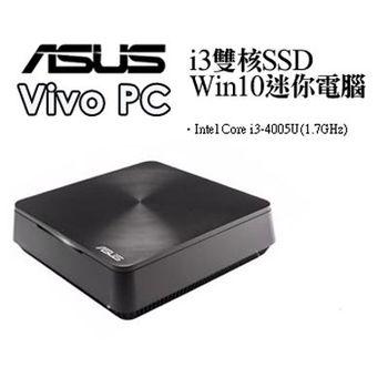 【ASUS華碩 】 VIVO PC  i3雙核SSD Win10迷你電腦- VM62-4005XTA